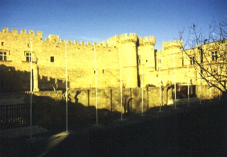 The Grand Master�s palace in Rhodes